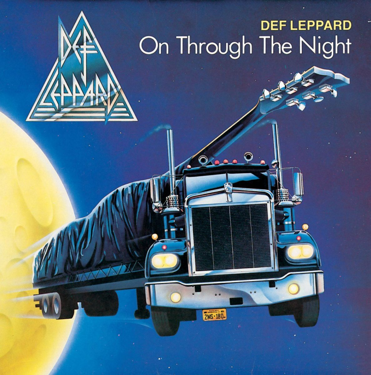pochette de l'album on through the night