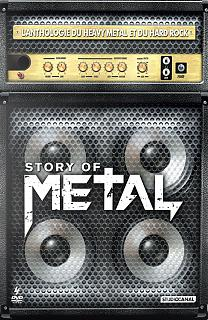 pochette du dvd story of metal