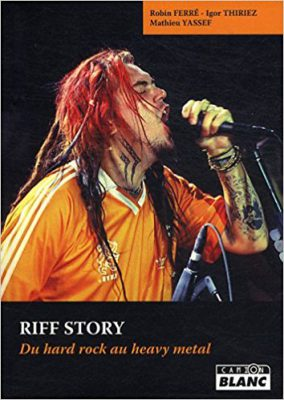 couverture du livre Riff story, du hard rock au heavy metal