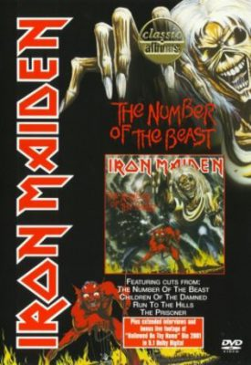 pochette du dvd the number of the beast