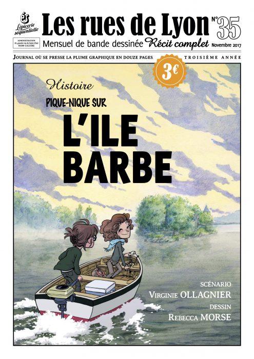 Couverture du numéro 35_Histoire de l'ïle Barbe