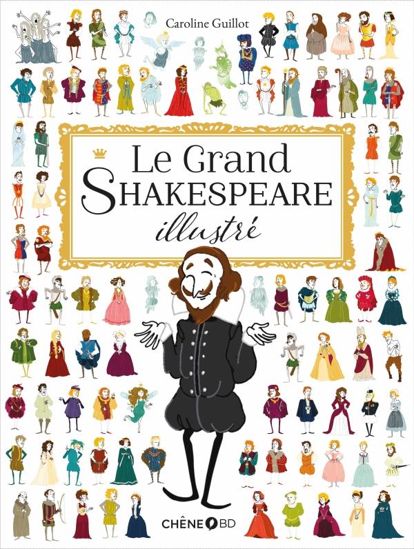 jacquette Le grand Shakespeare illustré