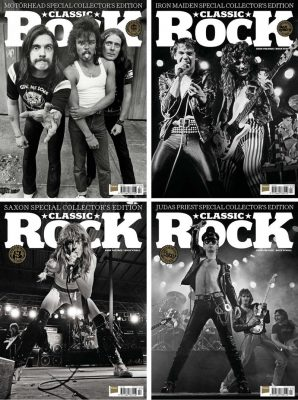couvertures du magazine classic rock