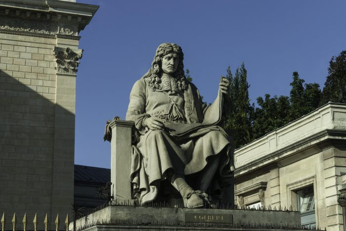 Statue de Colbert, Palais Bourbon, Paris