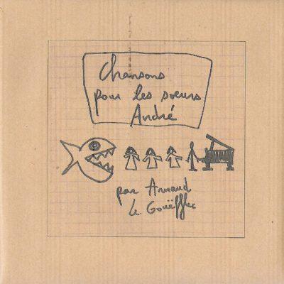 """Pochette de """"Chansons pour les soeurs André"""""""
