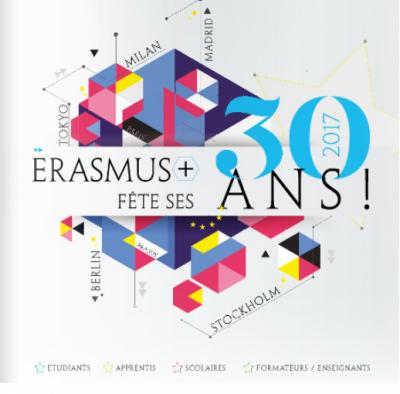 Logo de l'anniversaire d'Erasmus