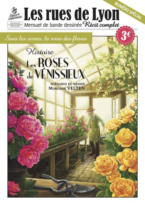 Couverture du numéro spécial sur l'histoire des Roses de Vénissieux