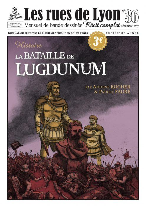 Couverture du numéro 36 La bataille de Lugdunum