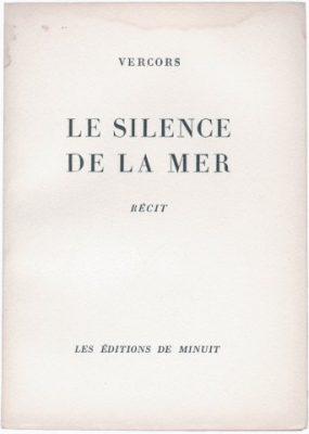 couverture Le silence de la mer