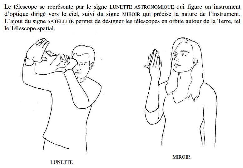 L'astronomie en langue des signes - L'influx