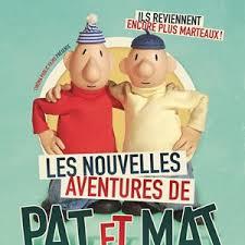 jacquette Les nouvelles aventures de Pat et Mat