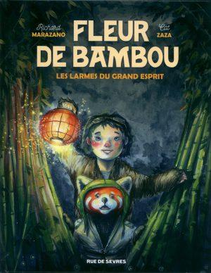 jacquette Fleur de bambou