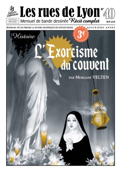 Couverture du numéro 40_Histoire de l'exorcisme du couvent