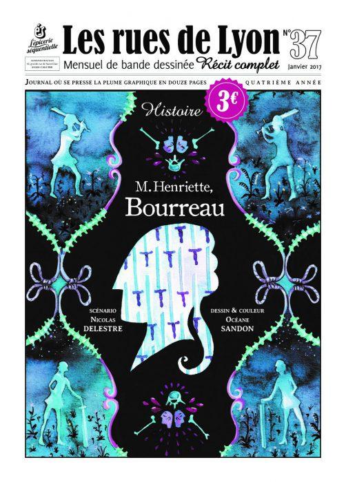 Couverture du numéro 37- Histoire de M. Henriette, Bourreau