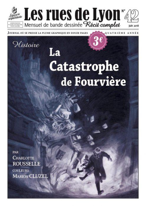 Couverture du numéro 42 - La Catastrophe de Fourvière