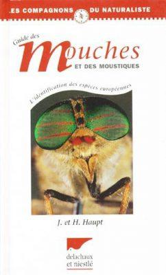 couverture du livre Guide de mouches et moustiques, chez Delachaux et niestlé