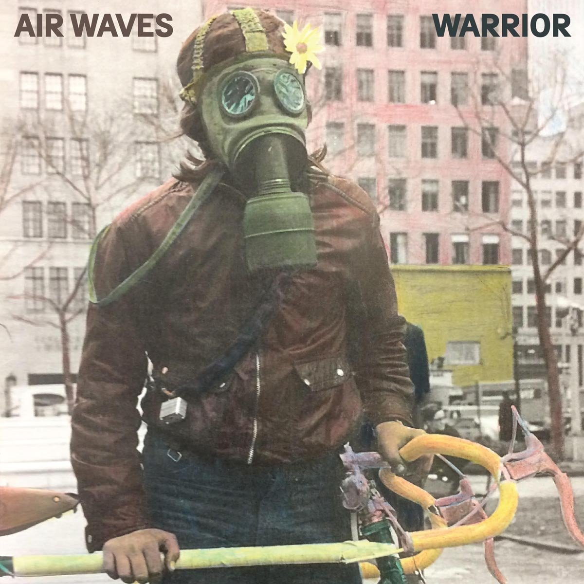 Pochette de l'album Warrior de Air Waves