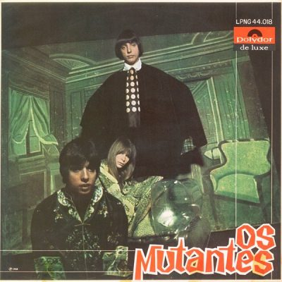 """pochette de l'album """"Os mutantes"""" (1968)"""