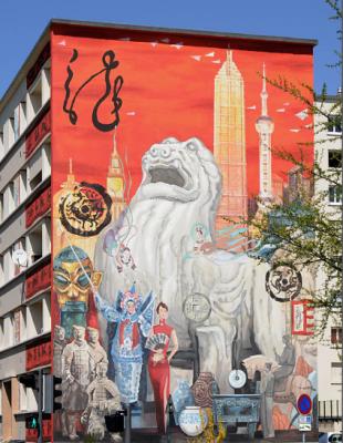 Shi Qiren de Shanghaï pour la Cité Idéale Chinoise