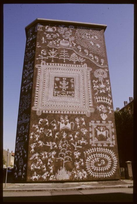Shantaram Tum et la tribu des Warlis pour la Cité Idéale de l'Inde