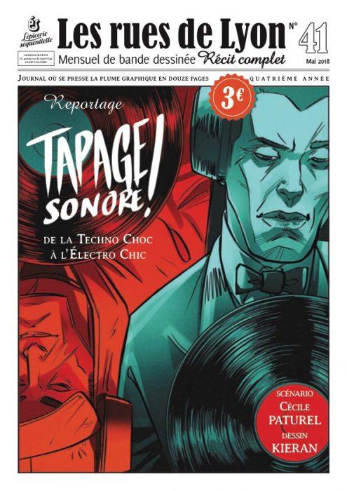 Couverture du numéro 41 Reportage Tapage sonore !