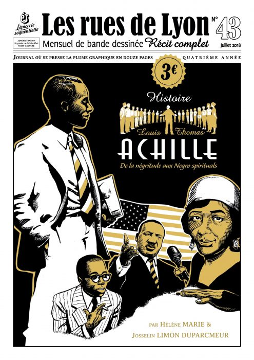 Couverture du numéro 43 - Histoire Louis Thomas Achille