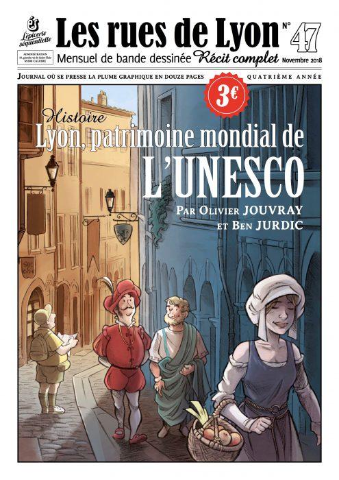 Couverture du numéro 47_Lyon patrimoine mondial de l'Unesco