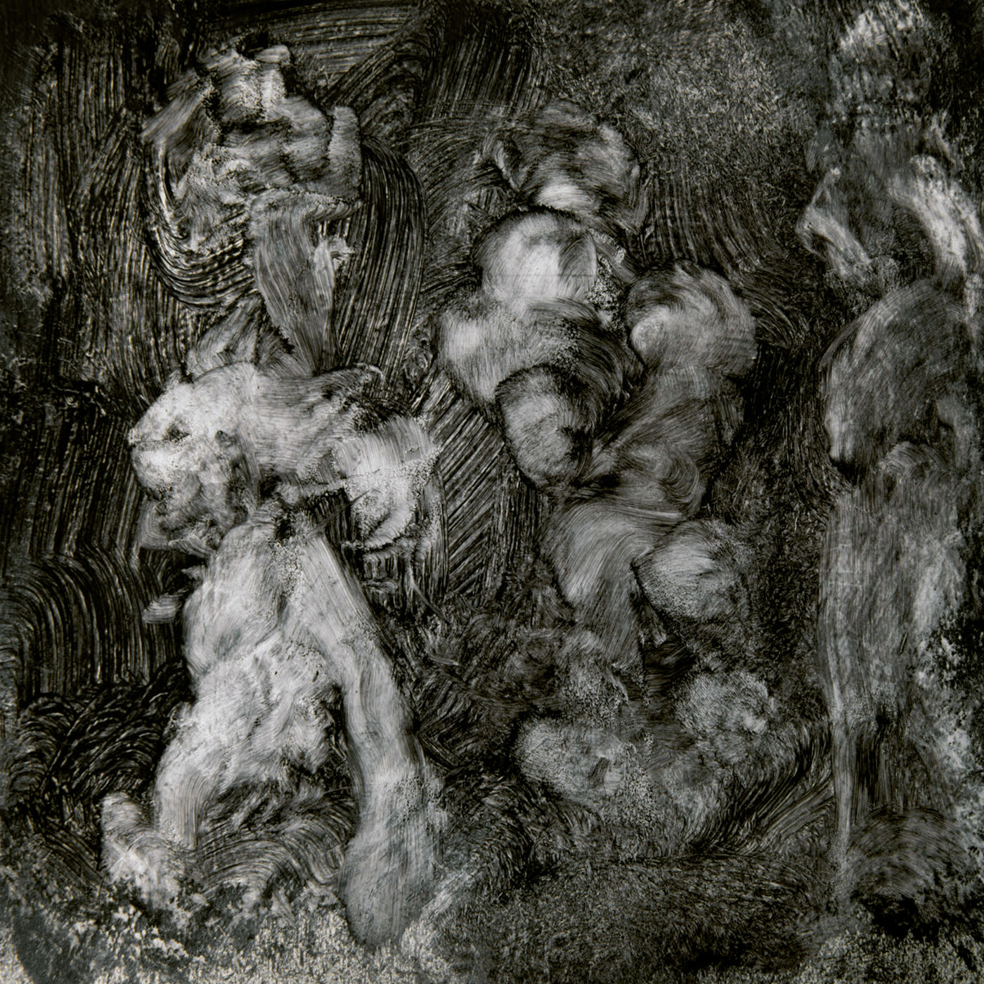 Pochette de l'album With_Animals de Mark Lanegan Duke Garwood