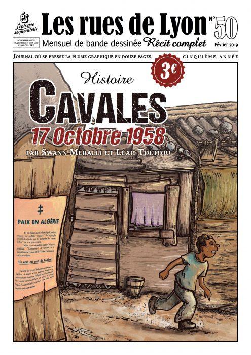 Couverture du numéro 50_Cavales 17 octobre 1958