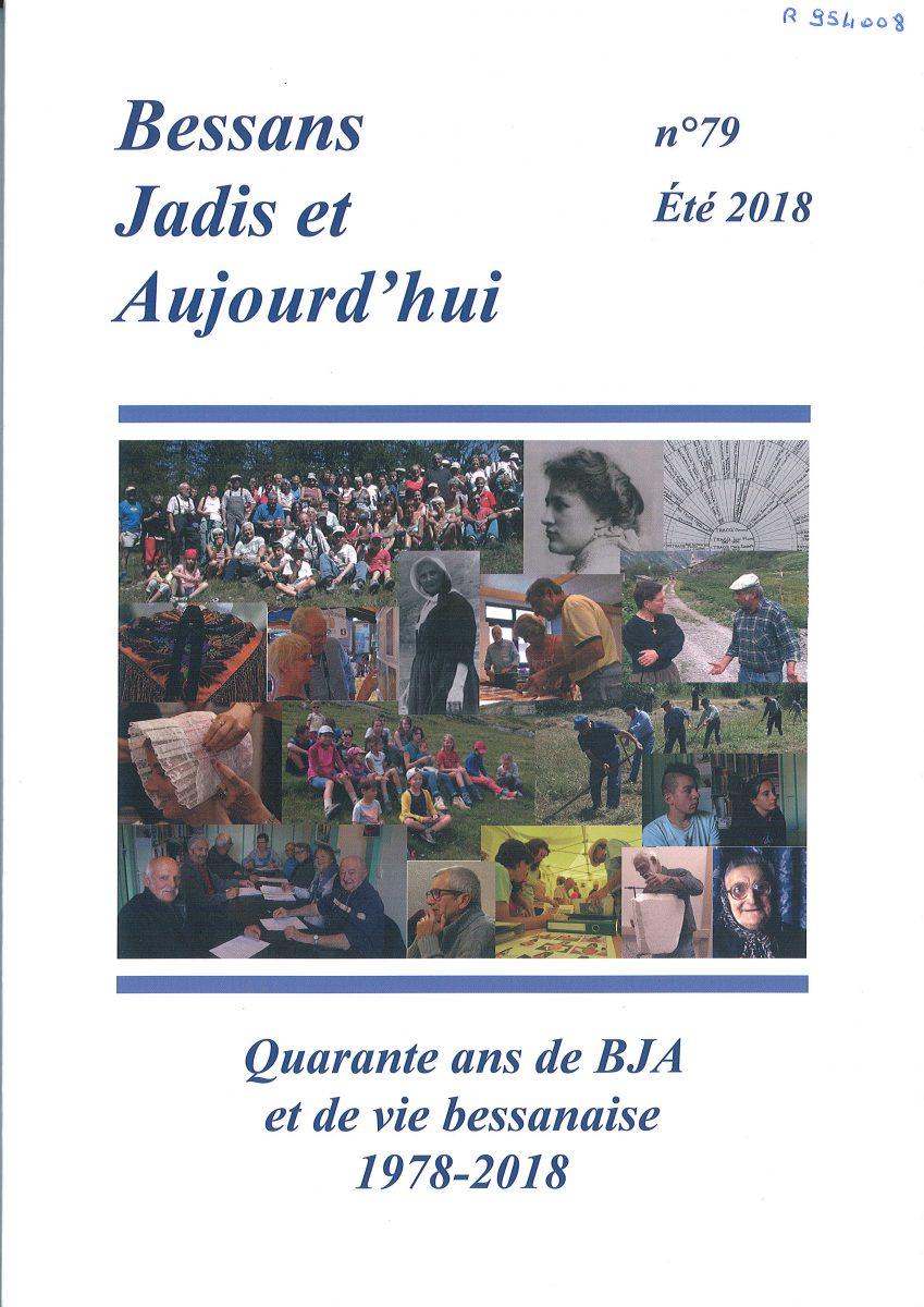 jacquette Bessans Jadis et Aujourd'hui