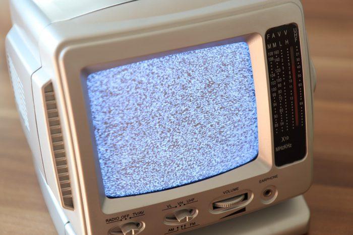 bruit de l'image dans un téléviseur