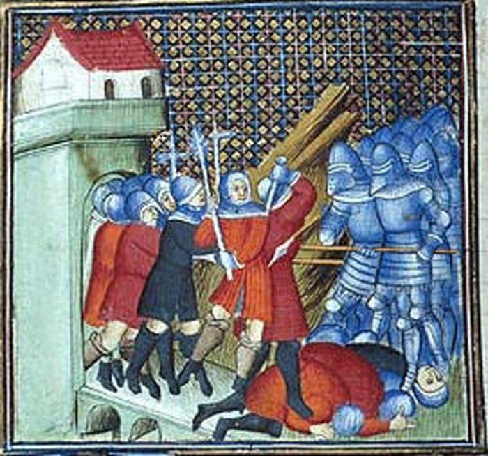 illustration de la Jacquerie (XVe siècle)