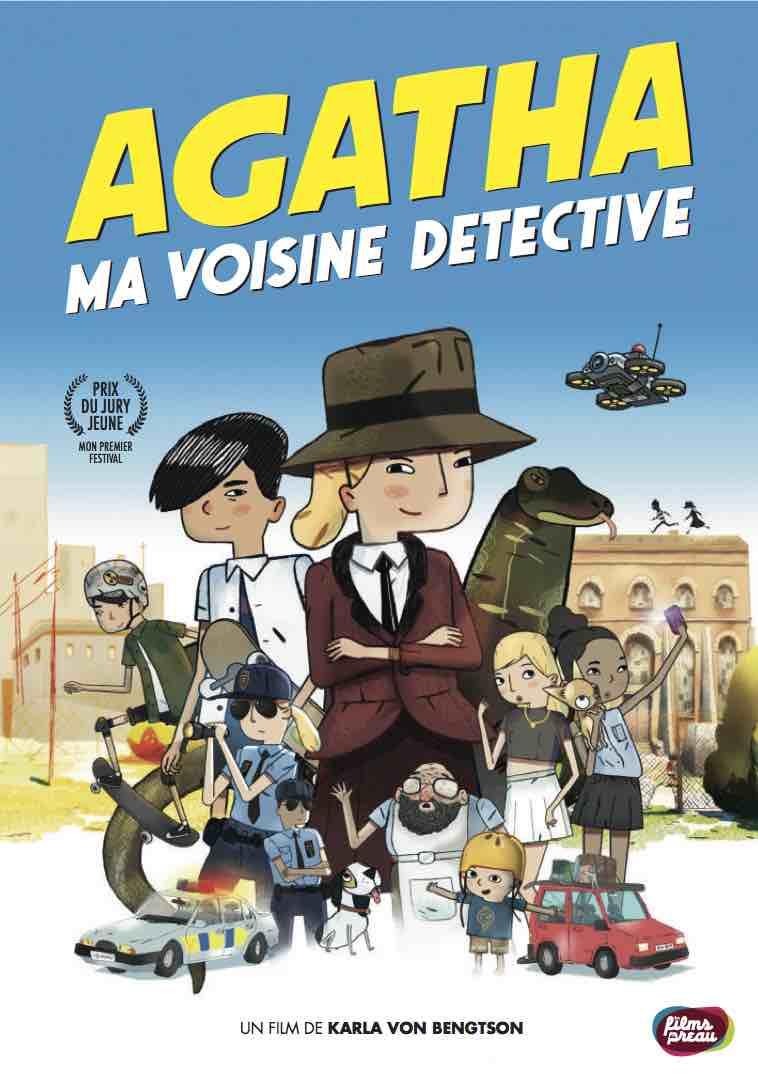 jacquette Agatha ma voisine détective