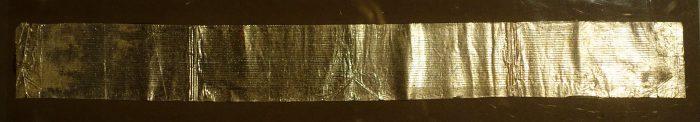 Enregistrement de la voix d'Edison sur une feuille d'aluminium