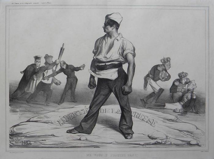 Honoré Daumier, Ne vous y frotter pas !!