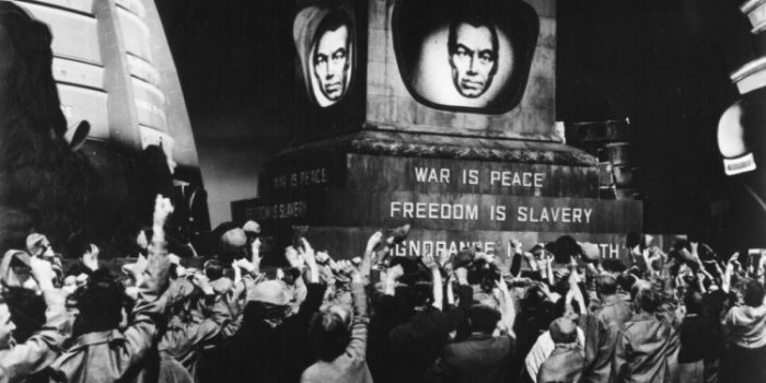 1984, adaptation du roman de Georges Orwell par Paul Nickell