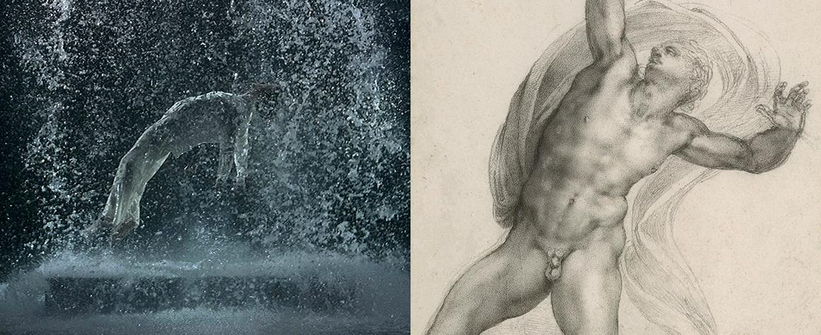 jacquette Réflexions : artistes embrassés