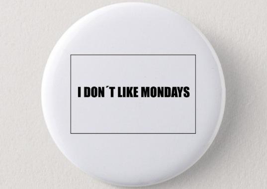 jacquette Je n'aime pas les lundis