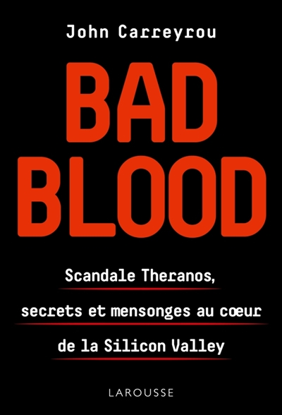 Bad blood john carreyrou