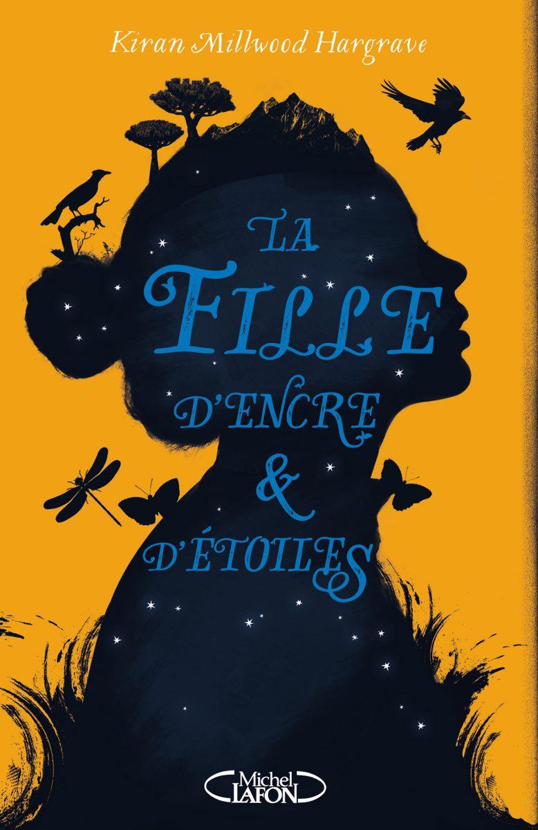 jacquette La Fille d'encre et d'étoiles