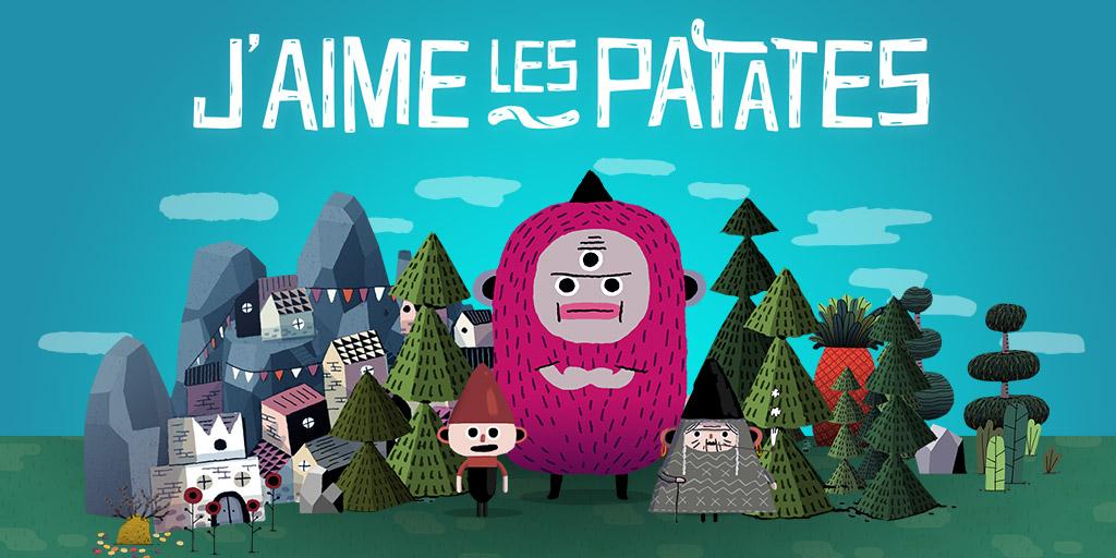 jacquette J'aime les patates