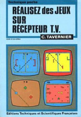 couverture du livre realiser des jeux sur récepteur TV
