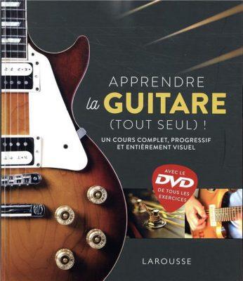 couverture du livre Apprendre la guitare (tout seul) !