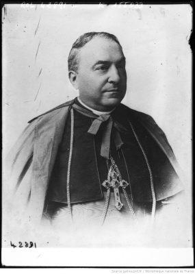 Le Cardinal Gasparri, secrétaire d'Etat du Vatican