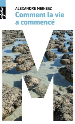 Couverture du livre Comment la vie a commencé / Aexandre Meinesz, Belin, 2016.
