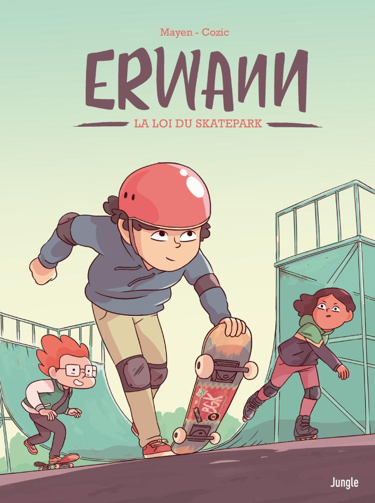 jacquette Erwann : la loi du skatepark