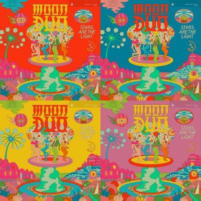 Artwork de la pochette de Moon duo