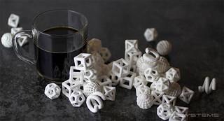 Morceaux de sucres imprimés en 3D