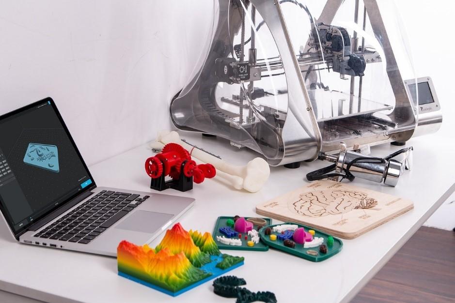 jacquette L'impressionnante imprimante 3D