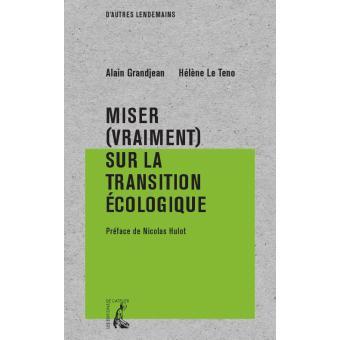 Couverture de Miser (vraiment) sur la transition écologique